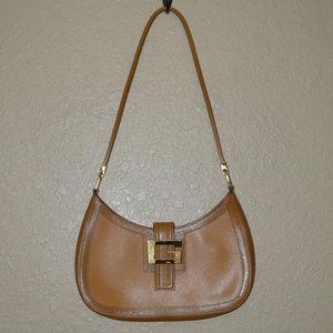 Gucci G Gold Hardware Dijon Shoulder Handbag